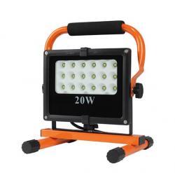 LED reflektor AKU PMCOB 10W, 800lm, 6000 K, nabíjecí