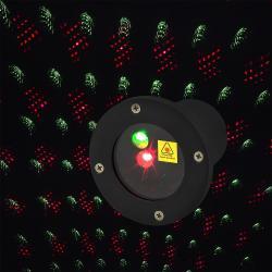 LED projektor Retlux RXL 290 barevný - červená/zelená