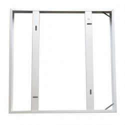 Rámeček pro LED panel 60 x 60 cm, bílý - složený