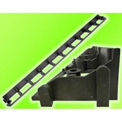 Neviditelný plastový obrubník NAKA - výška 45, 60, 80 mm - délka 1 m