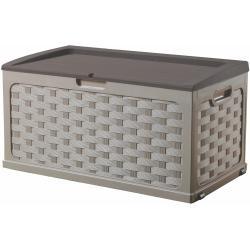 Plastový zahradní box s kolečky Fieldman FDD 1006B