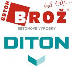 Akce na betonové výrobky DITON - BETON BROŽ
