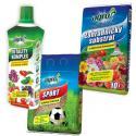 Substráty, hnojiva, travní semena