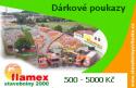 Dárkové poukazy FLAMEX (500 - 5000 Kč)