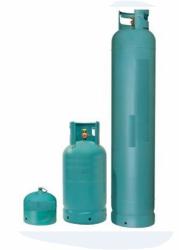 Prodej propan-butanového plynu (PB) v lahvích 30 kg, 10 kg, 2 kg