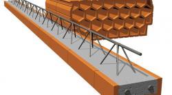 Keramický strop Porotherm- Miako