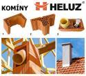 Nabízíme velmi výhodné slevy na keramické komíny Heluz